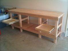 Work Bench - by Lance @ LumberJocks.com ~ woodworking community