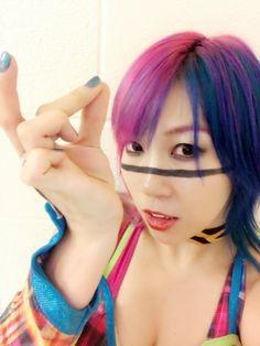 Wwe raw Asuka the gorgeous empress of tomorrow. Wrestling Divas, Women's Wrestling, Wwe Girls, Guys And Girls, Female Wrestlers, Wwe Wrestlers, Japanese Wrestling, Wwe Wallpaper, Wwe Tna