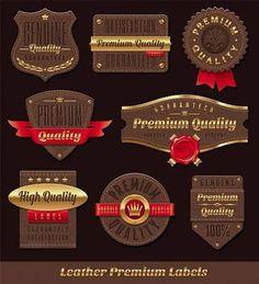Deri Etiket Tasarım ile ilgili görsel sonucu