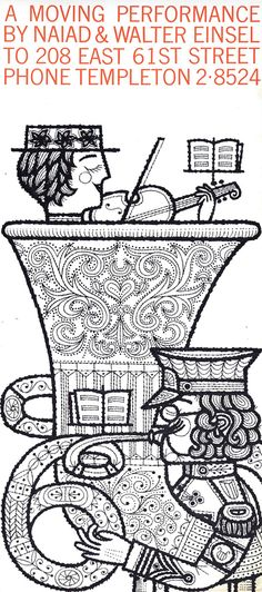 Mid Century female illustrator Naiad Einsel