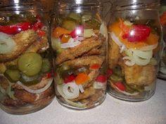 Rozpustne gotowanie: Ryba w zalewie pomidorowej. Sushi, French Toast, Meat, Chicken, Breakfast, Canning, Morning Coffee, Cubs, Sushi Rolls