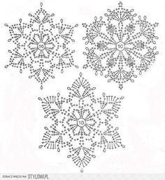 Украшаем дом новогодними снежинками: 58 вариантов вязан… na Stylowi.pl