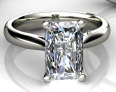 Single Stone Diamond Ring from The Lila Collection, available exclusively at Phillip Stoner the jeweller.