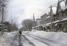 delaware blizzards | Delaware History: The Great Blizzard in Wilmington, 1888