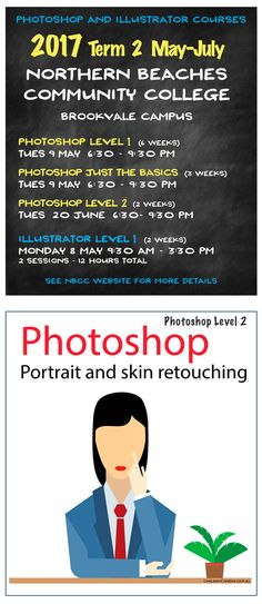 Live Learn Creative - Adobe Photoshop and Illustrator classes, workplace training and private tuition in Sydney, run by Sarah Lorien.