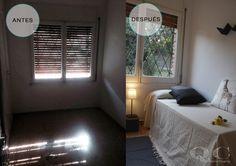 Home Staging en dormitorio juvenil. decoración #lowcost