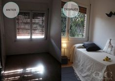 Home Staging en dormitorio juvenil. decoración #lowcost
