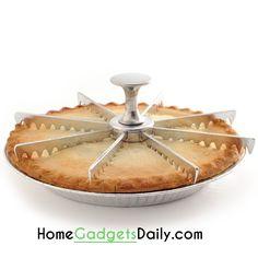 7-Piece Cake and Pie Divider #piece #divider #cakeslicer #piecutter #cutter #bakinggadgets #fancytools