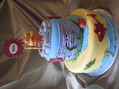 Lorax Birthday cake @Courtney French