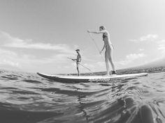 SUPing in Makena Maui  #msupall