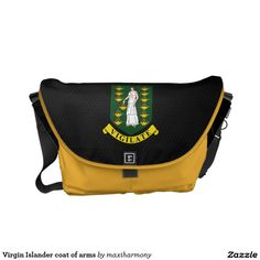 Virgin Islander coat of arms Courier Bag