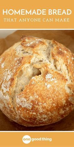 Baking can be tricky, but making a delicious loaf of homemade bread is actually easier than you'd think! Here's a simple recipe that anyone can make.