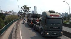 Carretas do Exército Brasileiro em Curitiba-PR