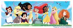 Merida, the only non singing princess
