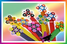 Flower bookmarks hama beads by Ana Isabel