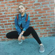 Jordyn Jones #casual day  IG: https://www.instagram.com/p/BMkmoioDFSy/ https://www.jordynonline.com