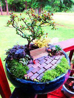 Como Fazer 1 Mini Jardim em Sua Casa