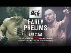 UFC 223: Caceres vs Lobov - FIGHT PASS Featured Bout