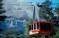 Looking for a family-friendly winter activity? Head to Stone Mountain, Georgia for tubing, camping and historical adventures! Here's the Skyride Summit at Stone Mountain.