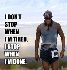 I have this one on my training board next to my treadmill!