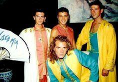 Pablo Robledo, Frank Romero, Luis Font & Antonio Albella.