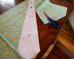 Make your own kid's tie