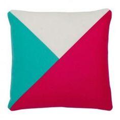 Colour Block Scatter Cushion