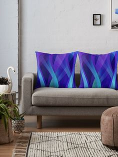 SOLD Throw Pillows x2 Abstract Background G143 https://www.redbubble.com/people/medusa81/works/10857642-abstract-background-g143?p=throw-pillow&size=large&type=cover-only #Redbubble #Throw #Pillows #Abstract #Background #modern #waves #blue #purple #cushions #home #homedecor