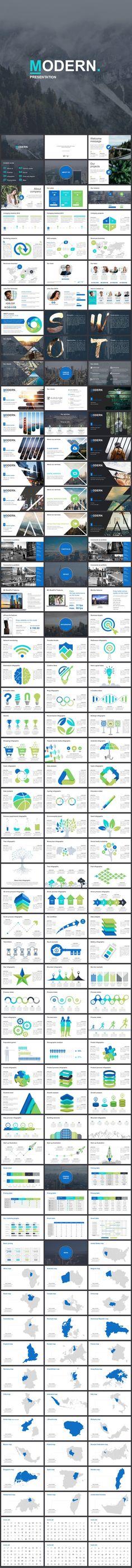 Marseille - Elegant Powerpoint Template (PowerPoint Templates - elegant powerpoint template