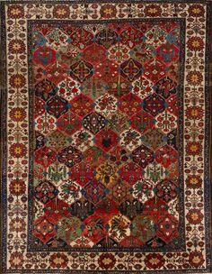 Persian Bakhtiari rug, Matt Camron gallery