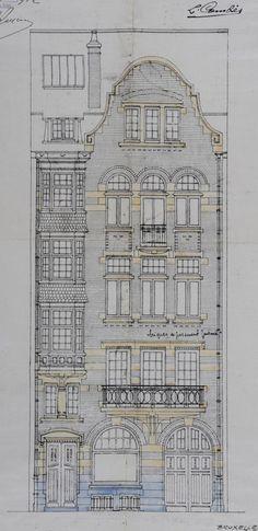 Schaerbeek - Rue Van Hammée 13-15 - DOOM René