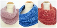 Snood crochet