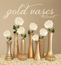 Hey, I found this really awesome Etsy listing at https://www.etsy.com/listing/469252097/gold-vases-custom-vases-gold-wedding