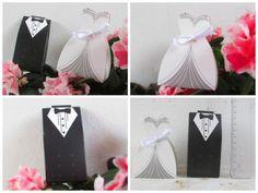 Caixinhas para lembracinha Noiva e Noivo Casamento - R$220