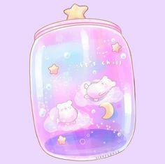 Yoda Drawing, Doodle Art Drawing, Cute Kawaii Drawings, Kawaii Art, Kawaii Stickers, Cute Stickers, Kawaii Cute Wallpapers, Iphone Wallpaper Cat, Anime Girl Pink