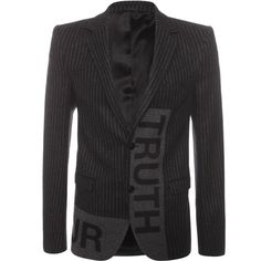 ALEXANDER MCQUEEN TAILORING Truth and Honour Jacket
