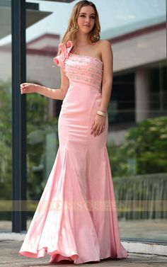 gorgeous mermaid dresses 2013 fashion ,pink elegant bridesmaid dresses long