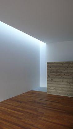 Light pooring down. Interior by Akira Sakamoto.