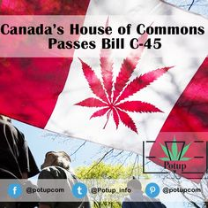 Canada's House of Commons Passes Bill C-45