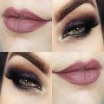 Tutorial - maquiagem com olho esfumado escuro para show