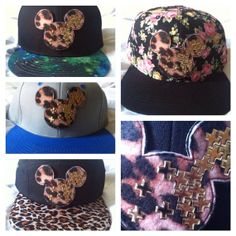 Leopard Mouse SnapBack by ALIENSofBROOKLYN on Etsy, $30.00