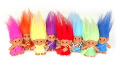 Remember these trolls, children of the 90's?