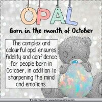 Opal-Oct ♡ Tatty Teddy tjn