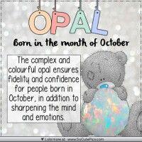 Opal-Oct ♡ Tatty Teddy tjn
