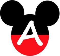 Has A - Z---BulutsMom: Mickey Mouse Temalı Doğum Günü Banner Harfleri