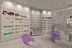 styling Beauty Salon Design, Dubai, Salons, Home Decor, Style, Swag, Lounges, Decoration Home, Room Decor