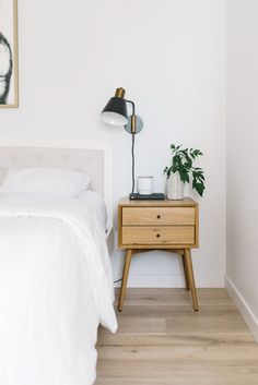 Home Sweet Home minimalist bedroom, night stand styling, bedroom refresh, master bedroom design, How Master Bedroom Design, Home Decor Bedroom, Bedroom Furniture, Bedroom Ideas, Dark Furniture, Budget Bedroom, Bedroom Designs, Bedroom Apartment, Cheap Furniture