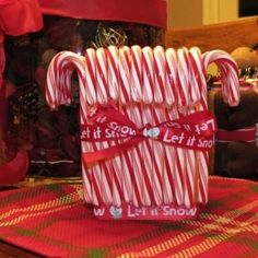1000 images about homemade vases on pinterest vases for Homemade christmas candy gift ideas