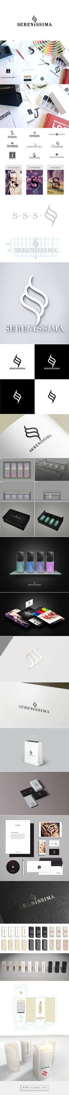 Sereníssima branding & #packaging on Behance by IndustriaHED™ Branding Studio curated by Packaging Diva PD long pin but worth it created via https://www.behance.net/industria