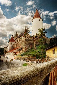 Castillo de Křivoklát puede encontrarse en la región de Bohemia Central de la República Checa.
